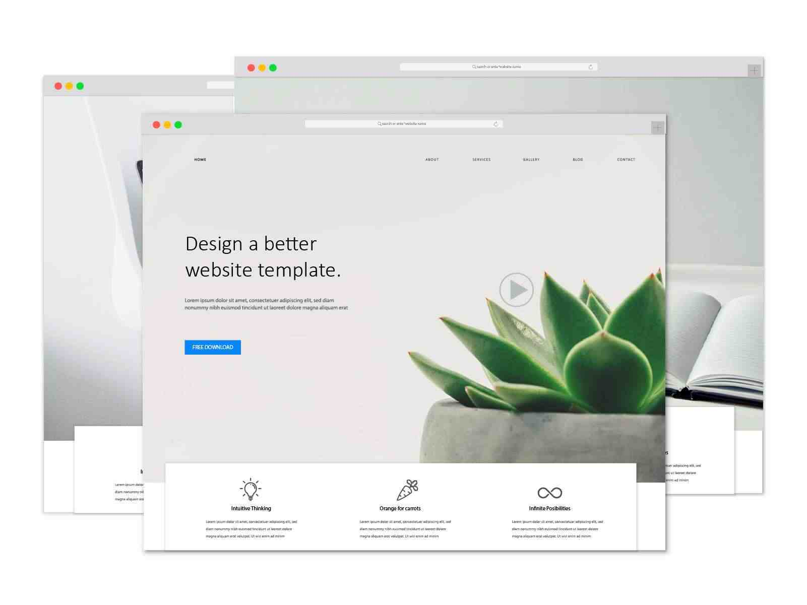 crate a website within a minute