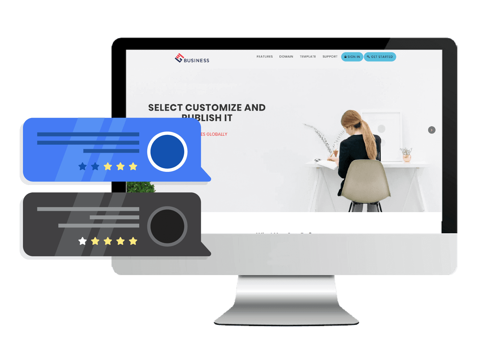 edit website and promote services