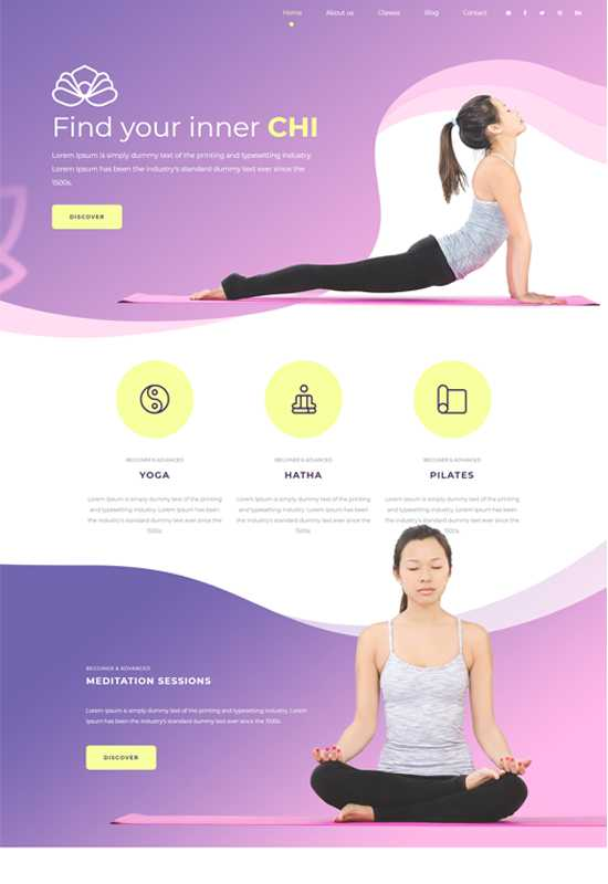 Stunning website and customize theme