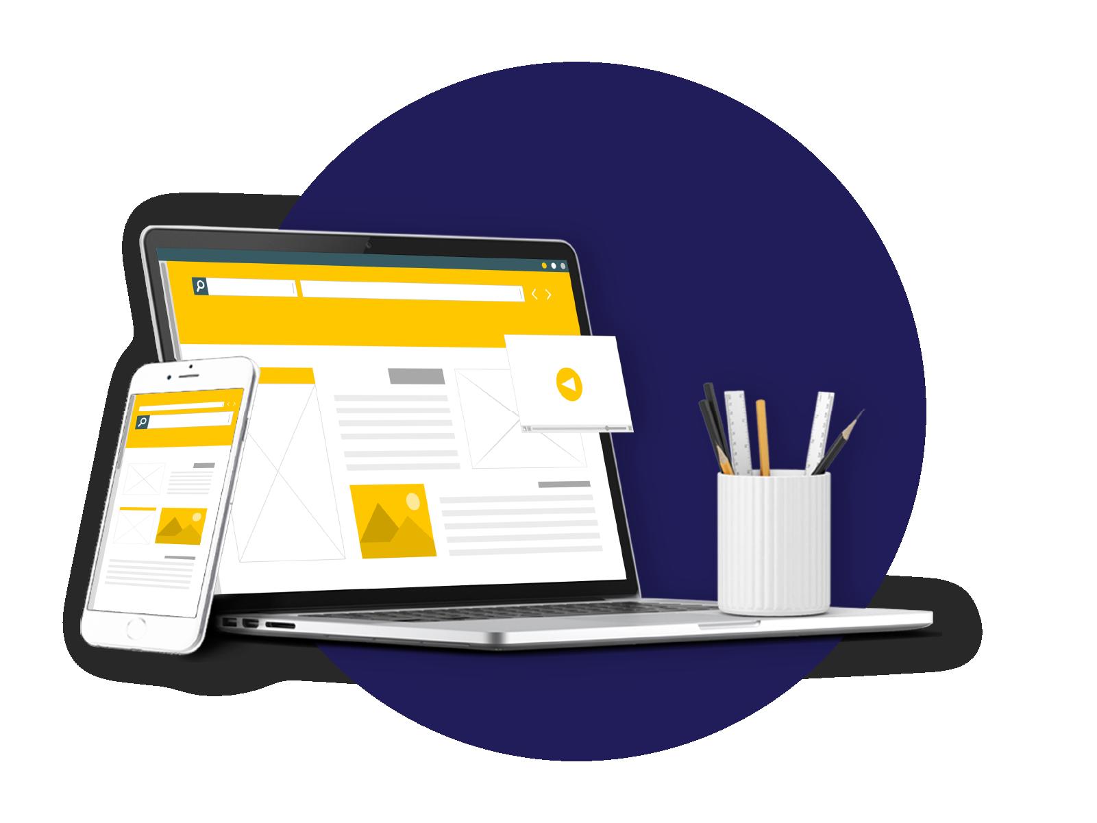 website builder company noida india
